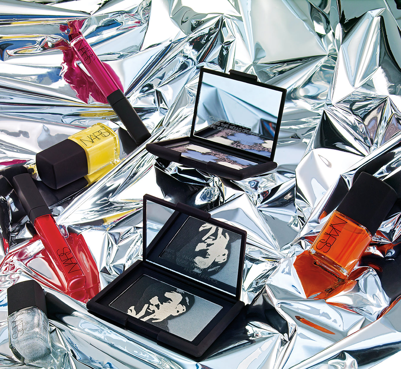NUVO Magazine: Nars's Andy Warhol Collection