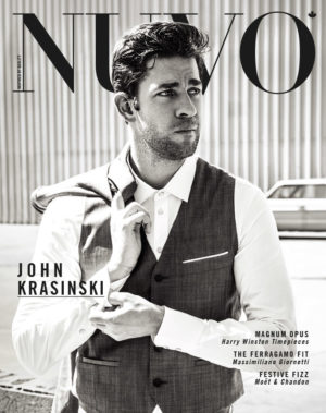 NUVO Magazine: Winter 2012 Cover featuring John Krasinksi