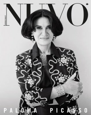 NUVO Magazine: Spring 2013 Cover featuring Paloma Picasso