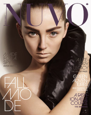 NUVO Magazine Autumn 2008 Cover