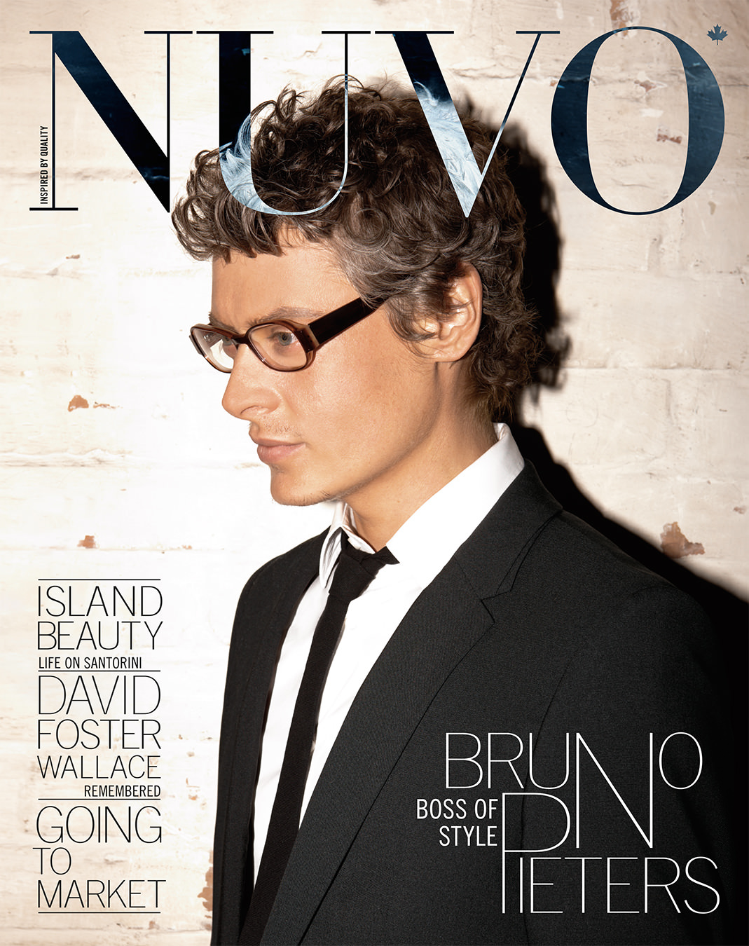 NUVO Magazine Spring 2009 Cover featuring Bruno Pieters