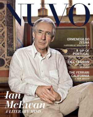 NUVO Magazine Autumn 2009 Cover featuring Ian McEwan