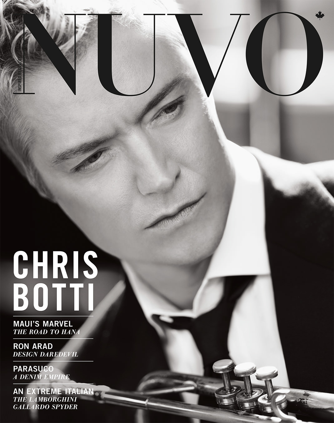 NUVO Magazine Spring 2010 Cover featuring Chris Botti