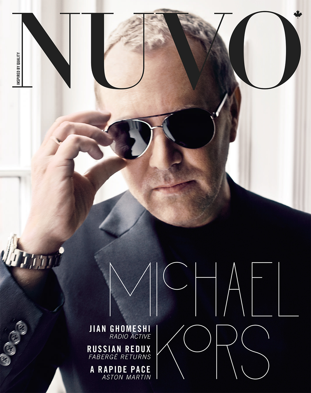 NUVO Magazine Summer 2010 Cover featuring Michael Kors