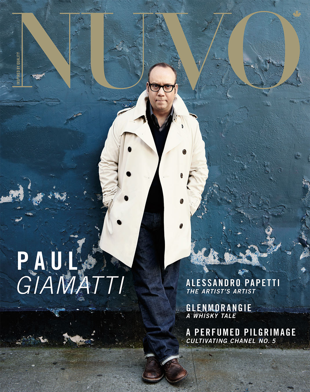 NUVO Magazine Winter 2010 Cover featuring Paul Giamatti