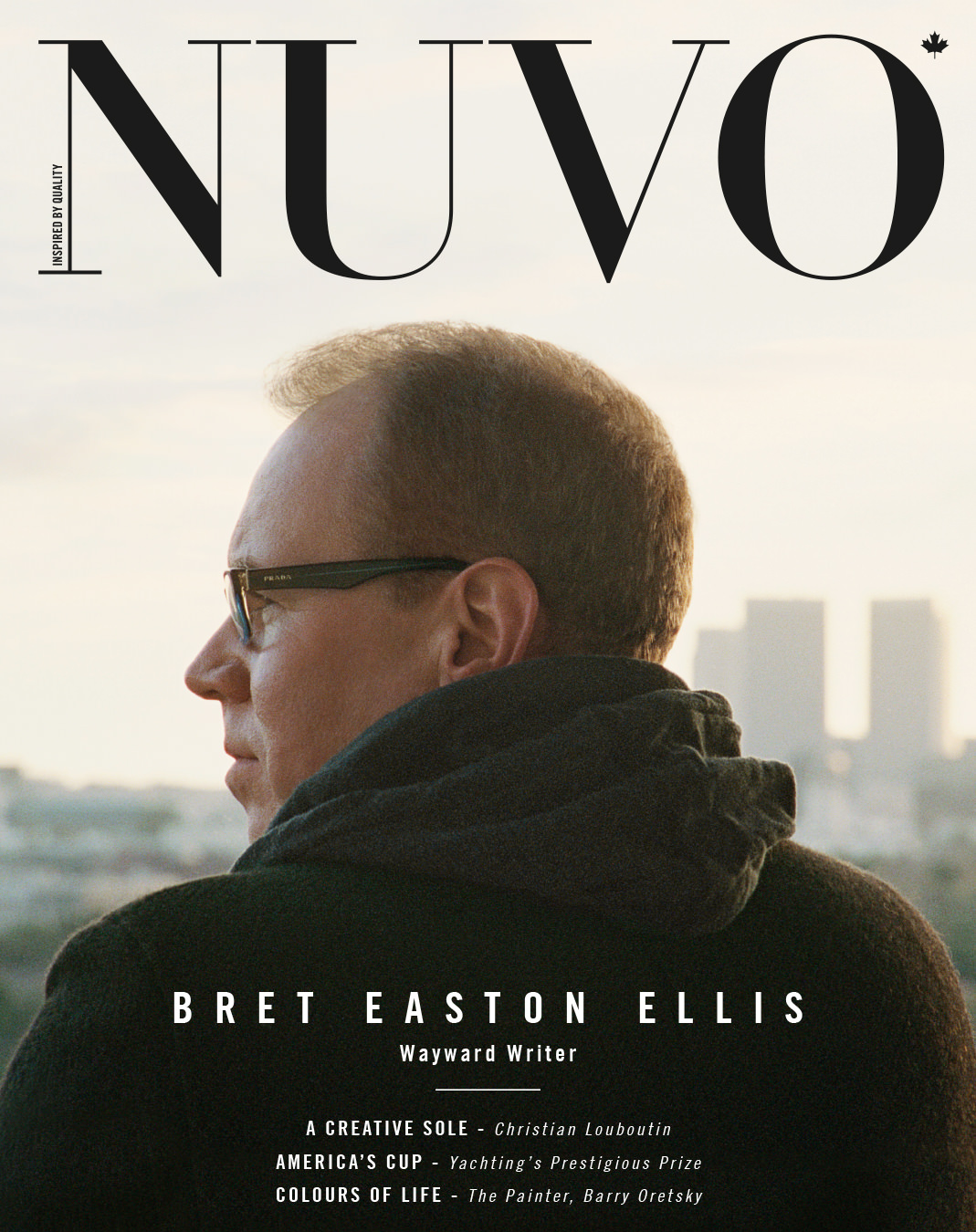 NUVO Magazine Summer 2013 Cover featuring Bret Easton Ellis