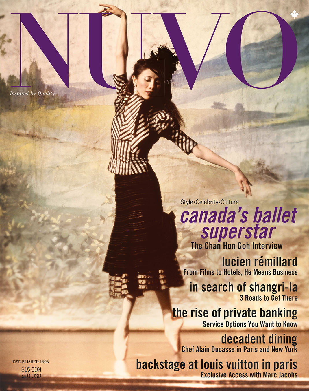 NUVO Magazine Autumn 2004 Cover featuring Chan Hon Goh