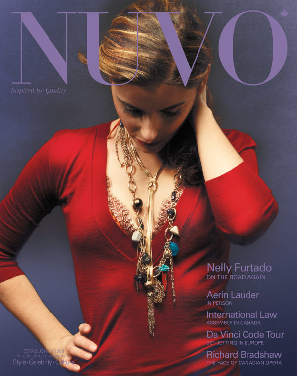 NUVO Magazine Summer 2006 Cover featuring Nelly Furtado