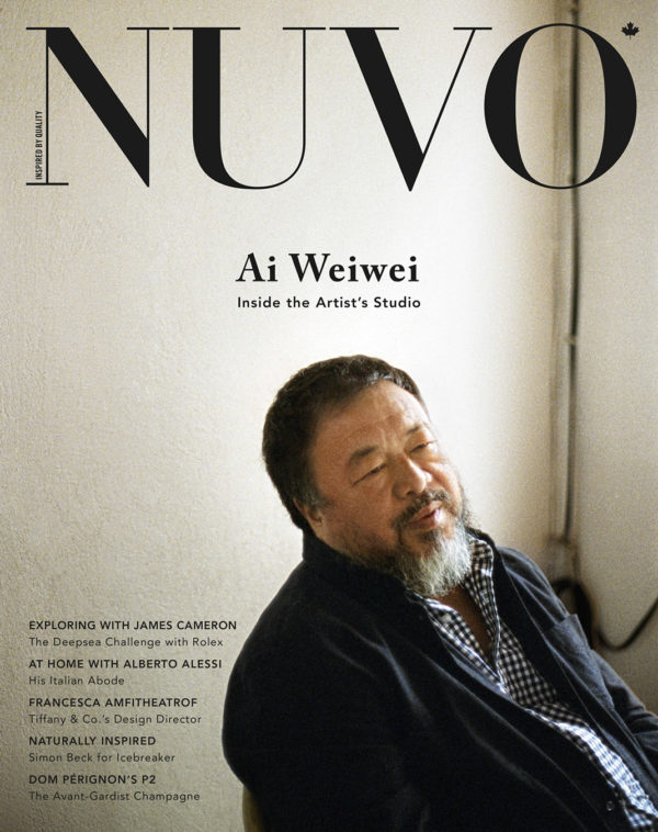 NUVO Magazine Winter 2014 Cover featuring Ai Weiwei