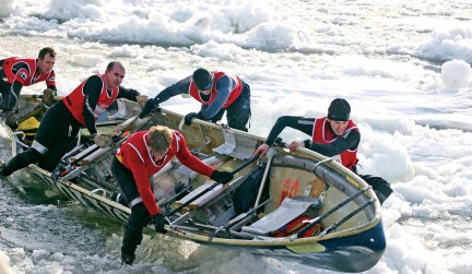NUVO Magazine: The Ice Canoes Of Carnaval