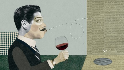 NUVO Magazine: The Art Of Spitting Wine