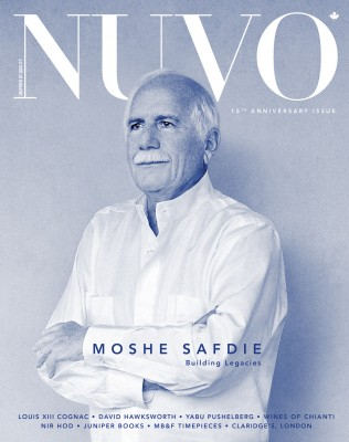 NUVO Winter 2013 issue featuring Moshe Safdie