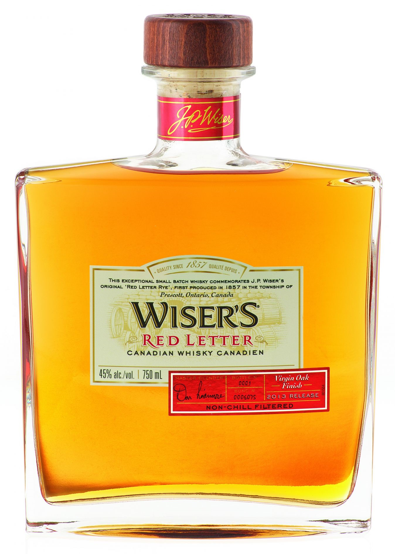 NUVO Daily Edit: Wiser's Red Letter Whisky