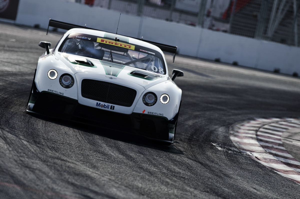 NUVO Daily Edit: Bentley Continental GT3 Racecar