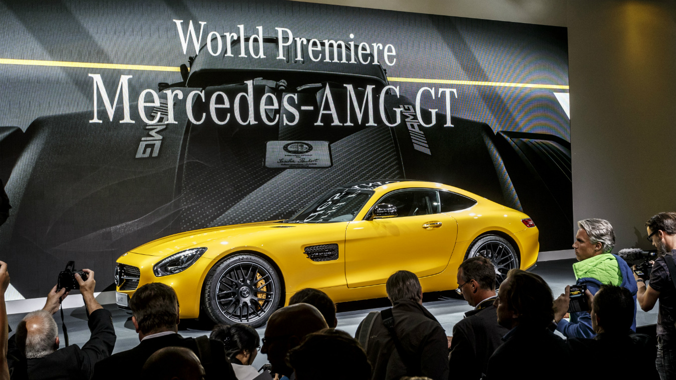 NUVO Daily Edit: 2016 Mercedes-AMG GT