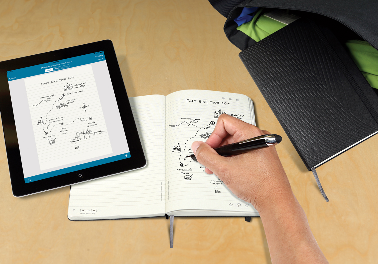 NUVO Daily Edit: Livescribe Moleskine
