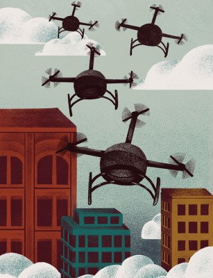 NUVO Magazine: Inquiring Minds, UAV