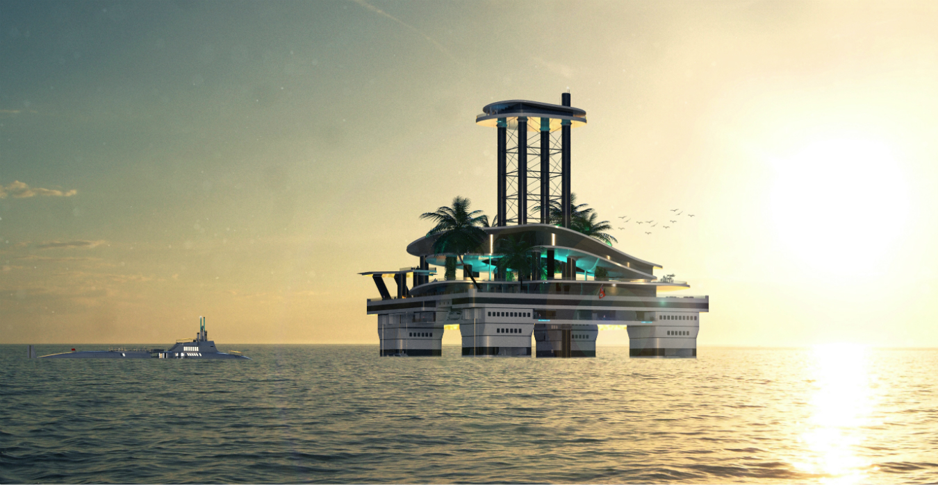 Migaloo's Submersible Superyachts