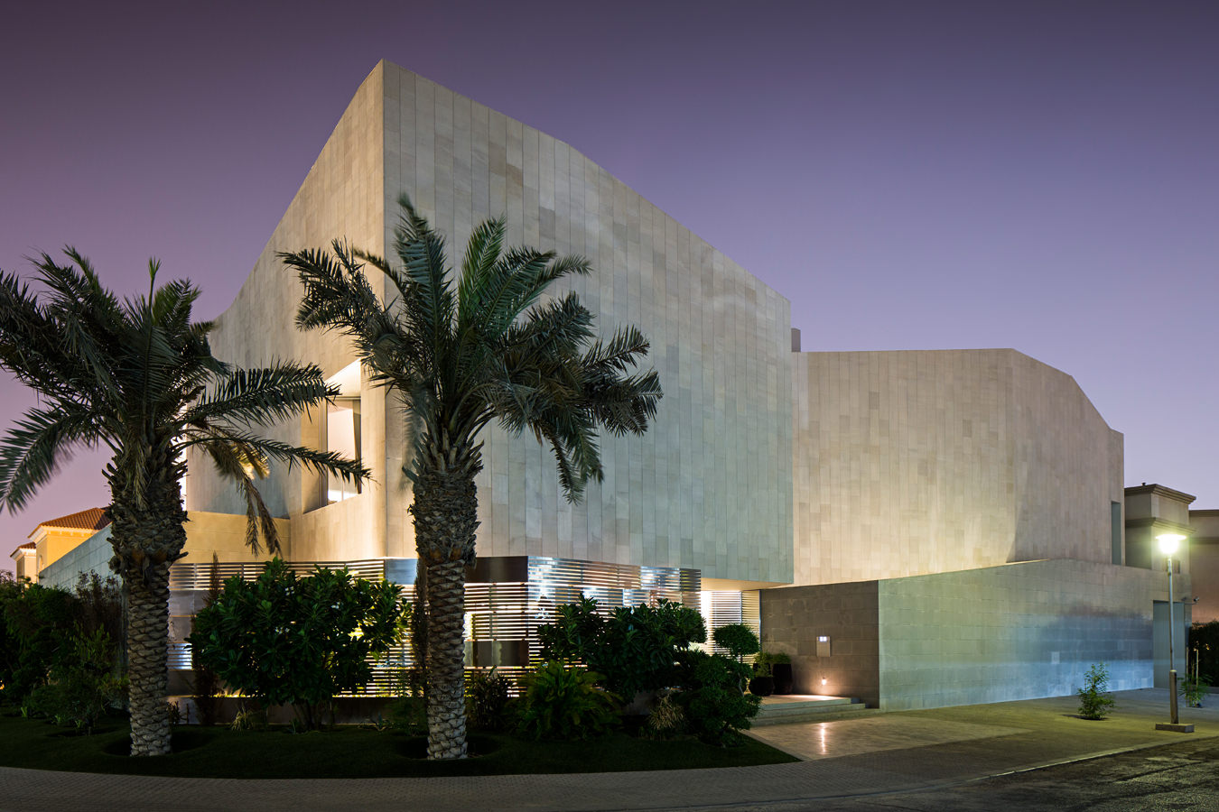 Behind the Façade of Kuwait's Wall House