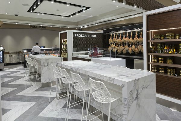 Shopping and Dining, Daily Edit, Saks Food Hall by Pusateris