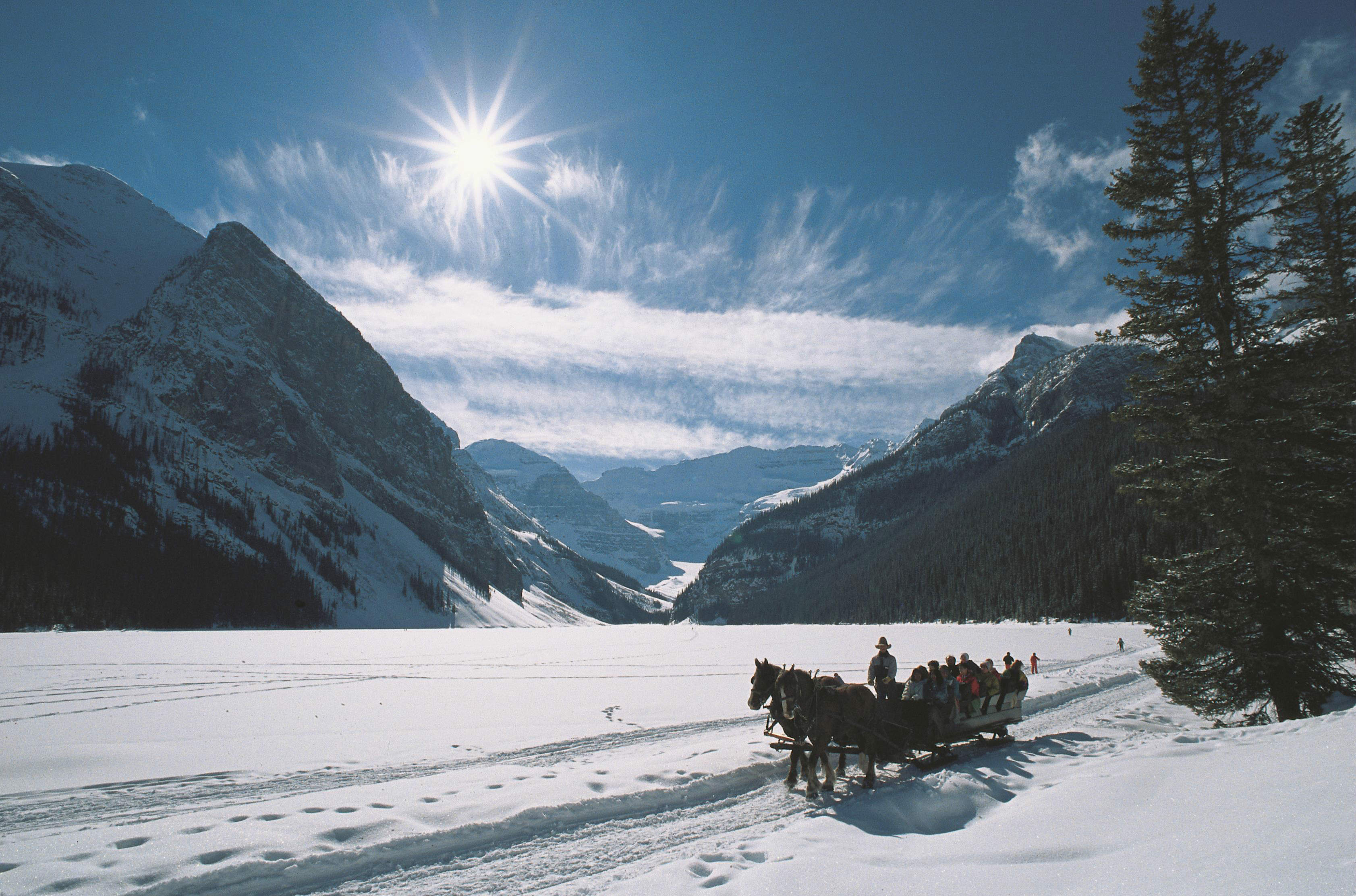 The World's Most Elegant Sleigh Rides