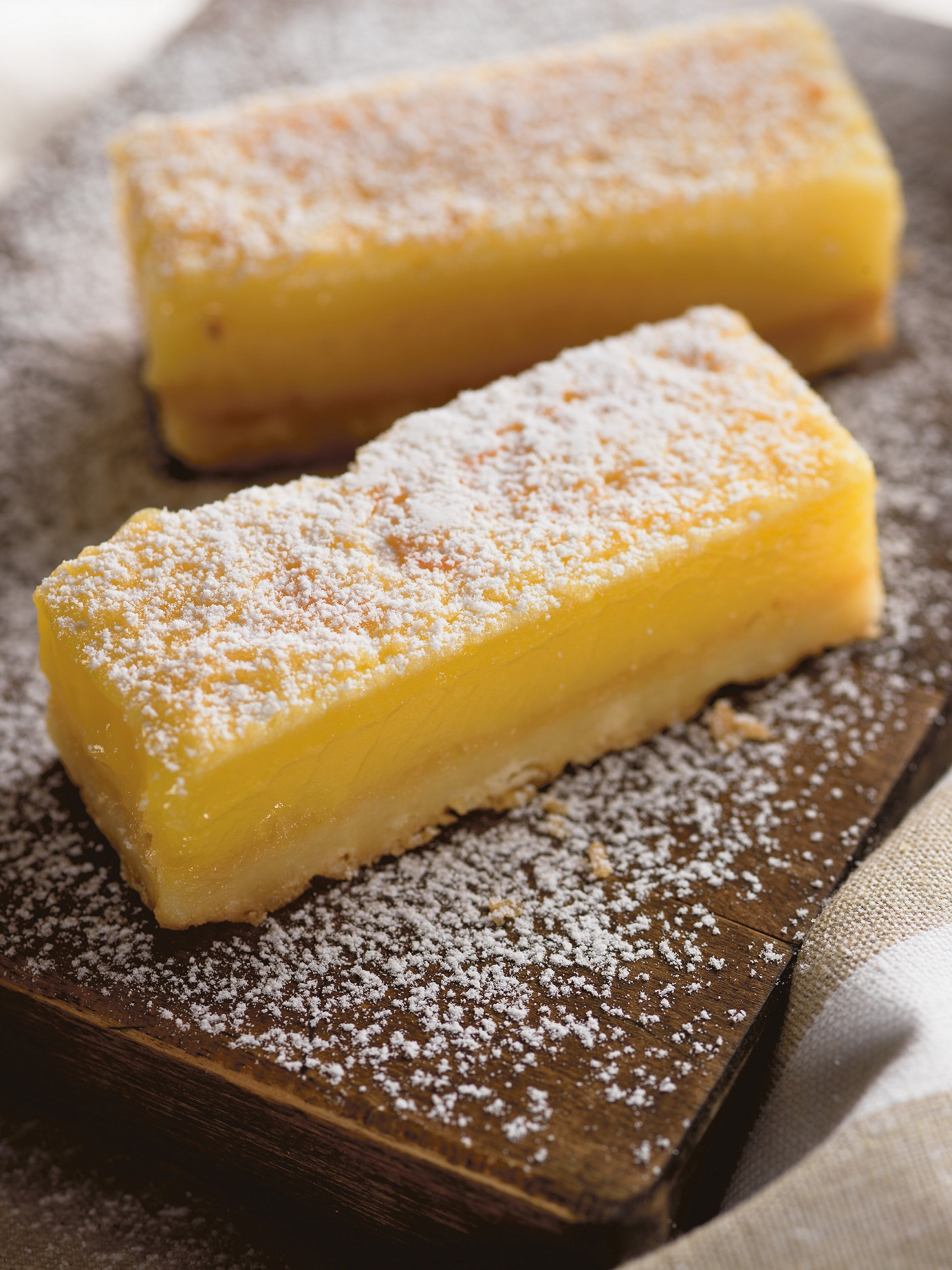 Daily Edit, Holiday bar recipe, lemon bar