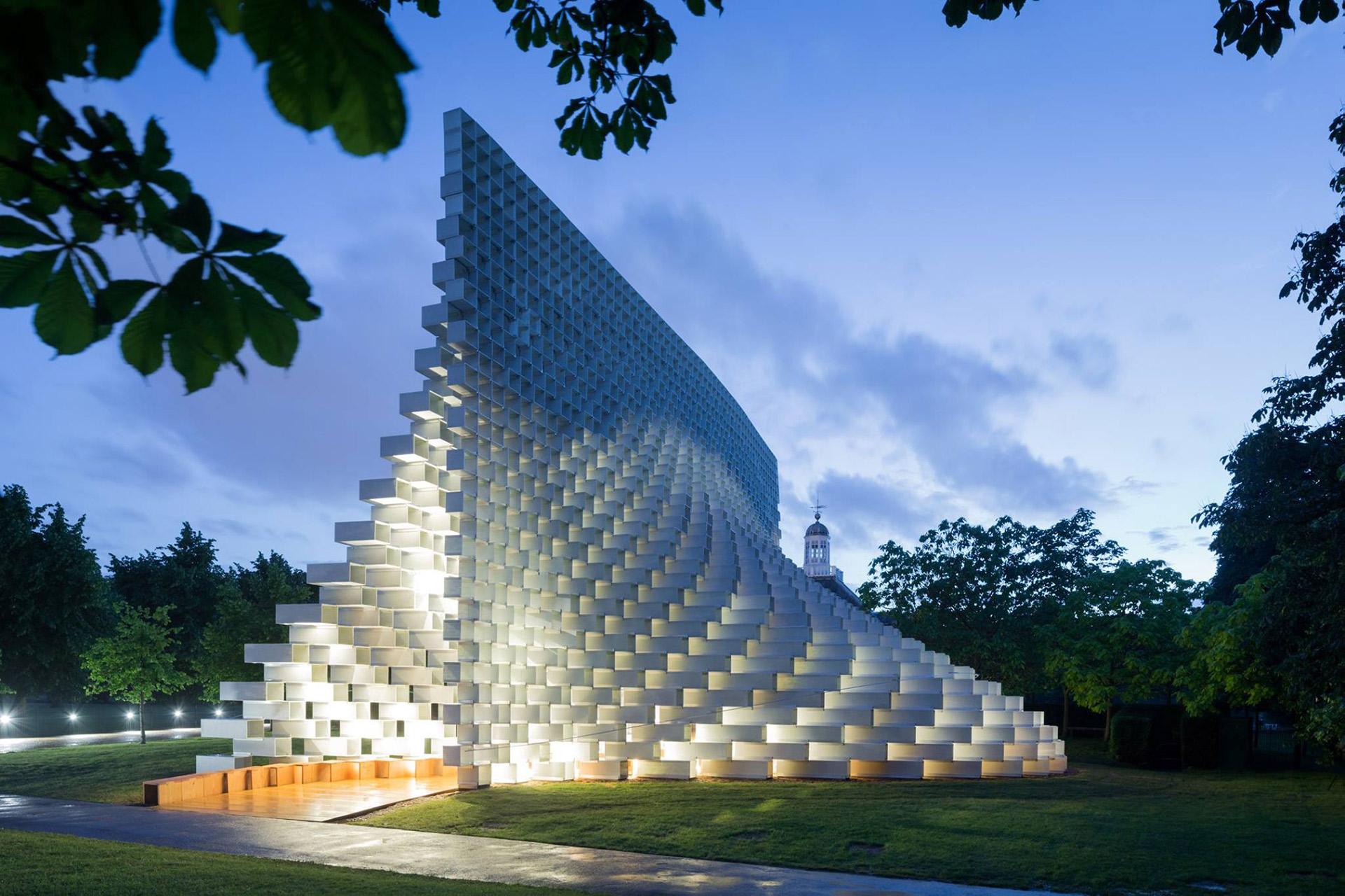 Bjarke Ingels Group's Unzipped Pavilion in Toronto and Vancouver
