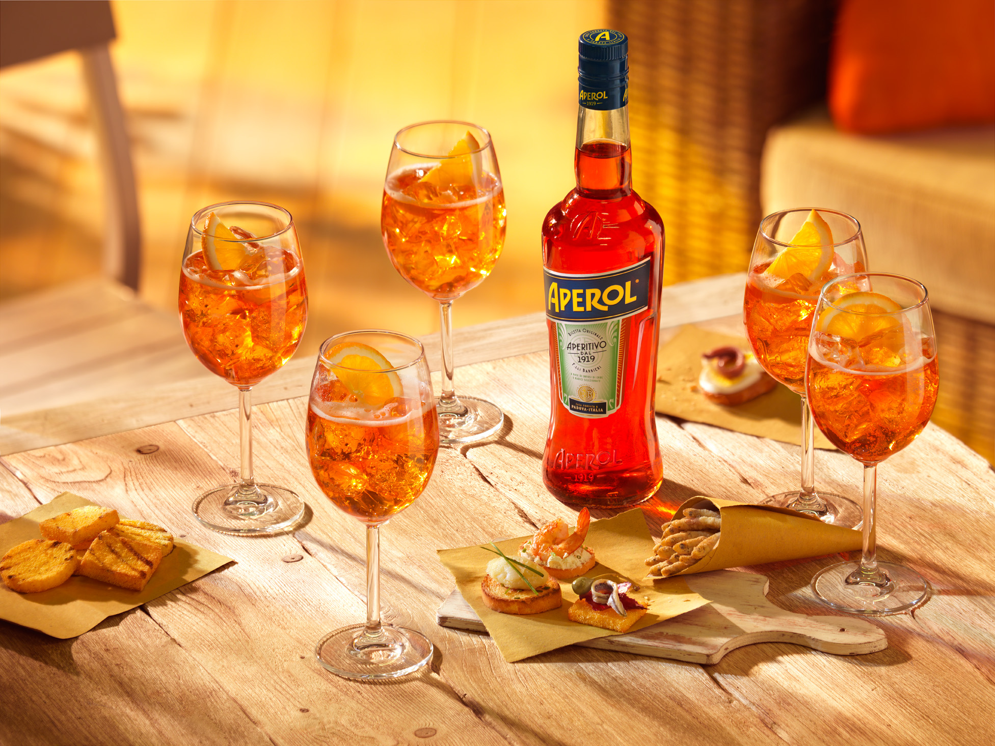 Aperol Spritz, FYI Drink, Summer 2017