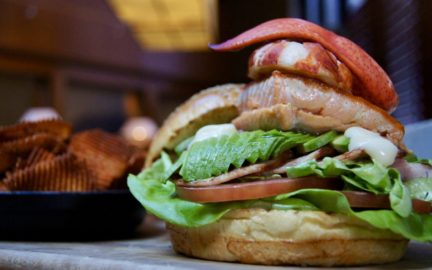Video: Yew Restaurant's Super Seafood Burger