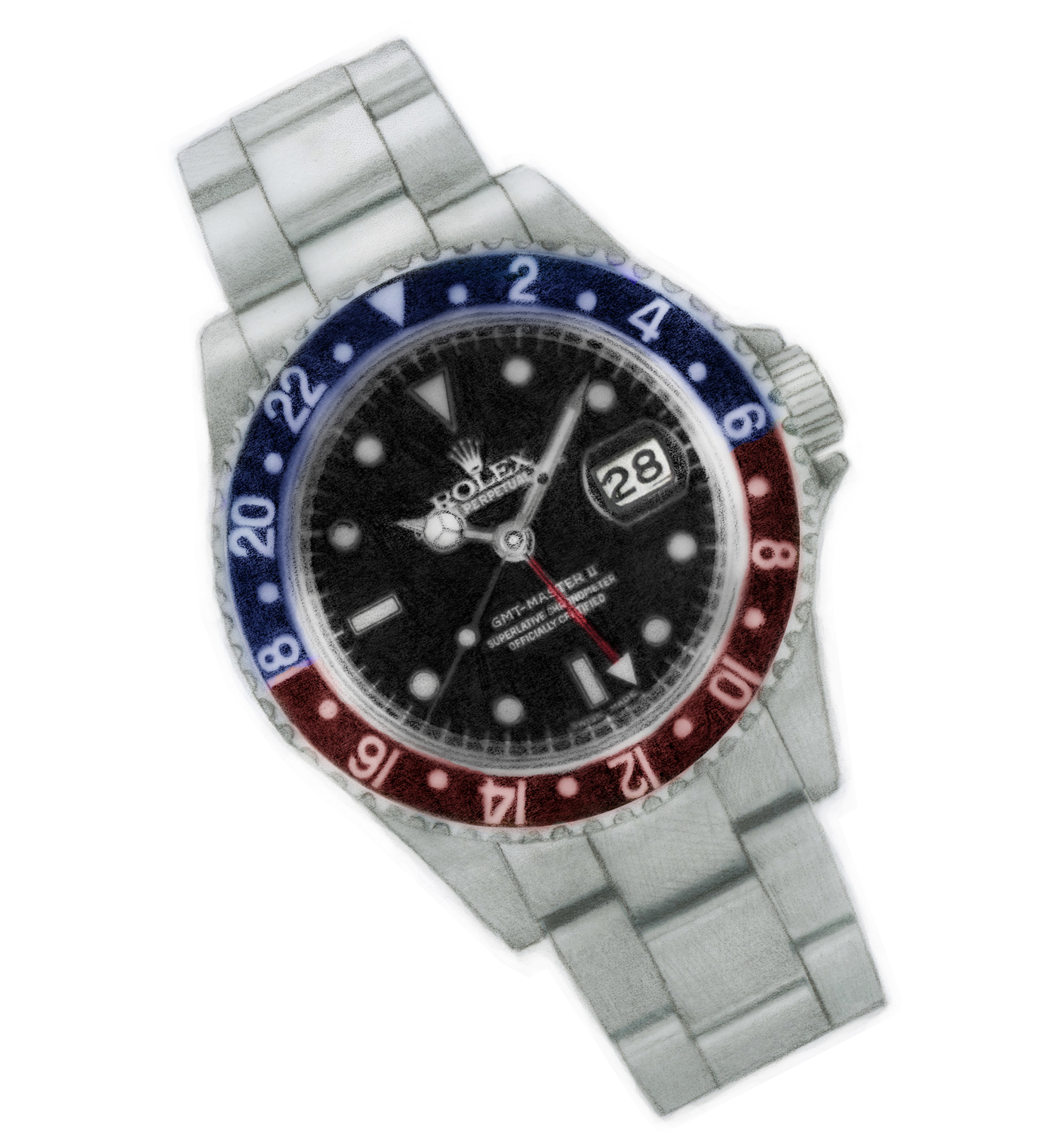 The Pepsi Language of Rolex