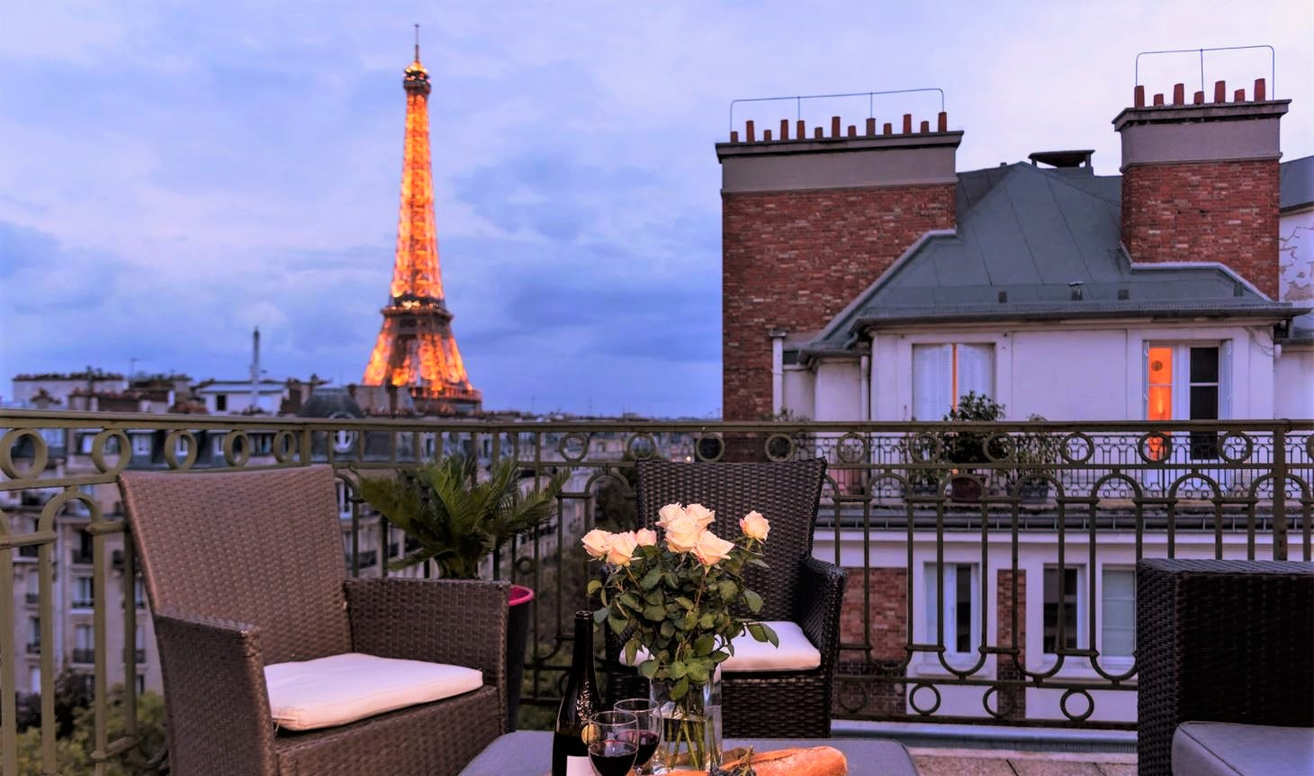 Four Gorgeous Luxury Penthouses to Rent in Paris