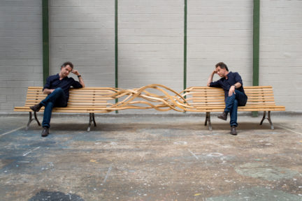 Pablo Reinoso's Spaghetti Bench Series, Of Note, Spring 2018