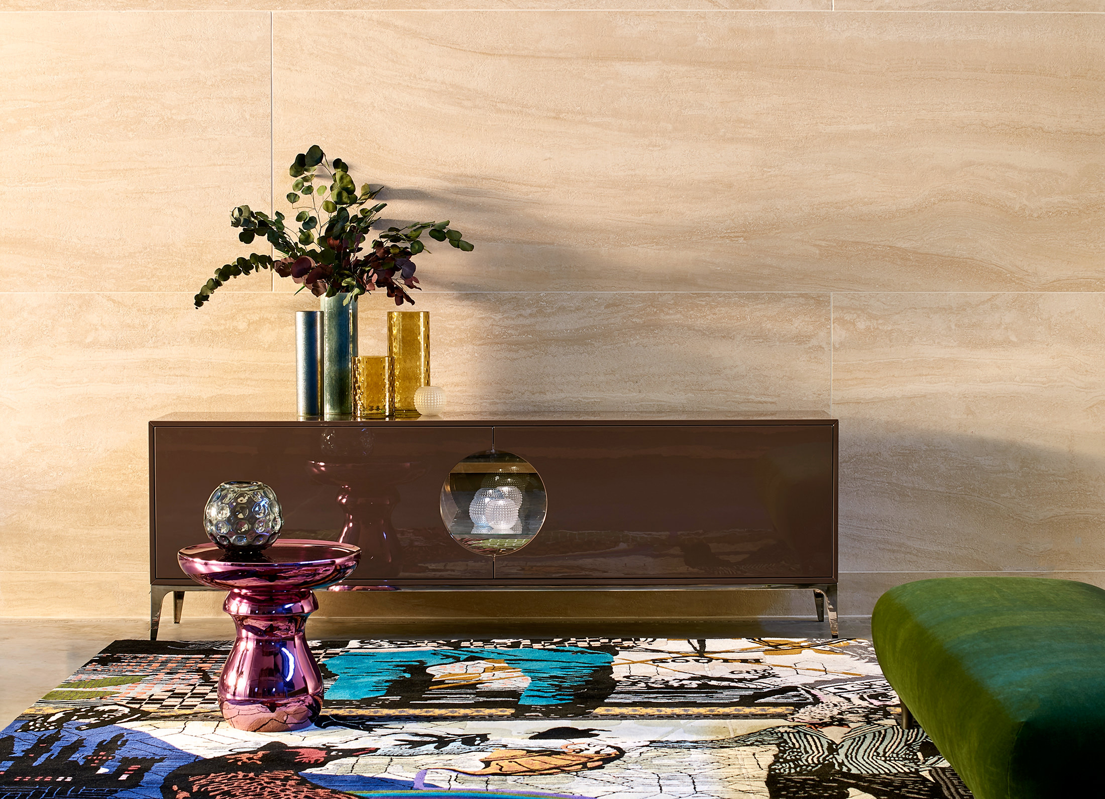 Marcel Wanders Globe Trotter Collection for Roche Bobois NUVO