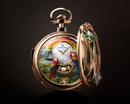 Parrot Pocket Watch, Of Note, Autumn 2018