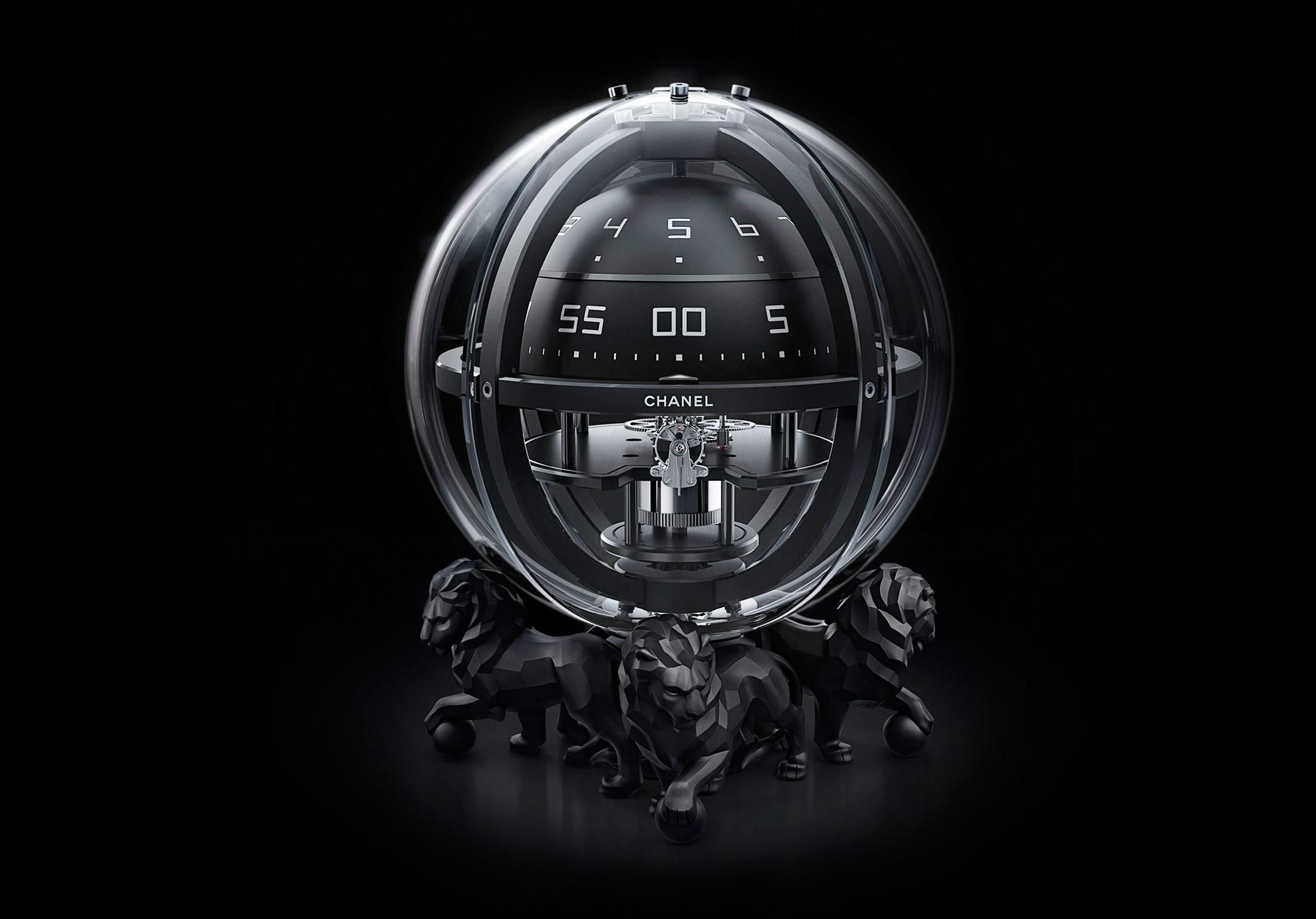 Chanel Chronosphere Clock NUVO