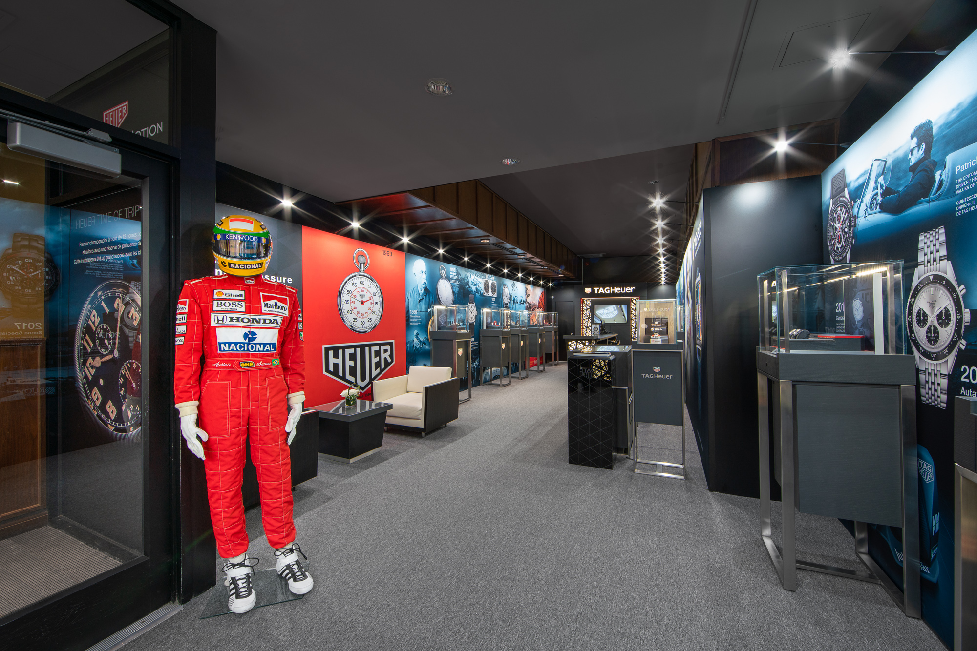 Tag Heuer Museum in Motion