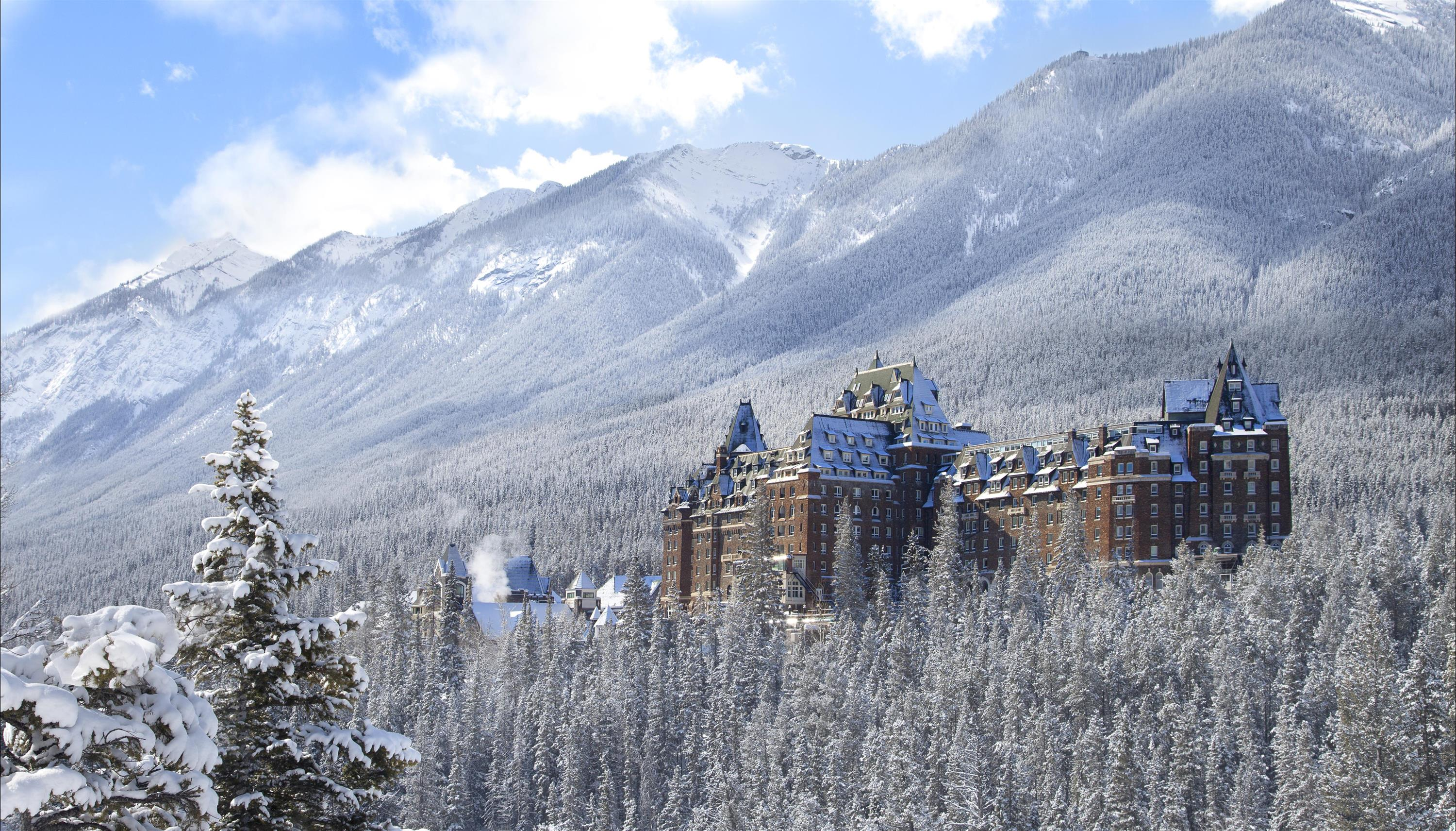 Alberta Winter Getaways NUVO Banff Springs