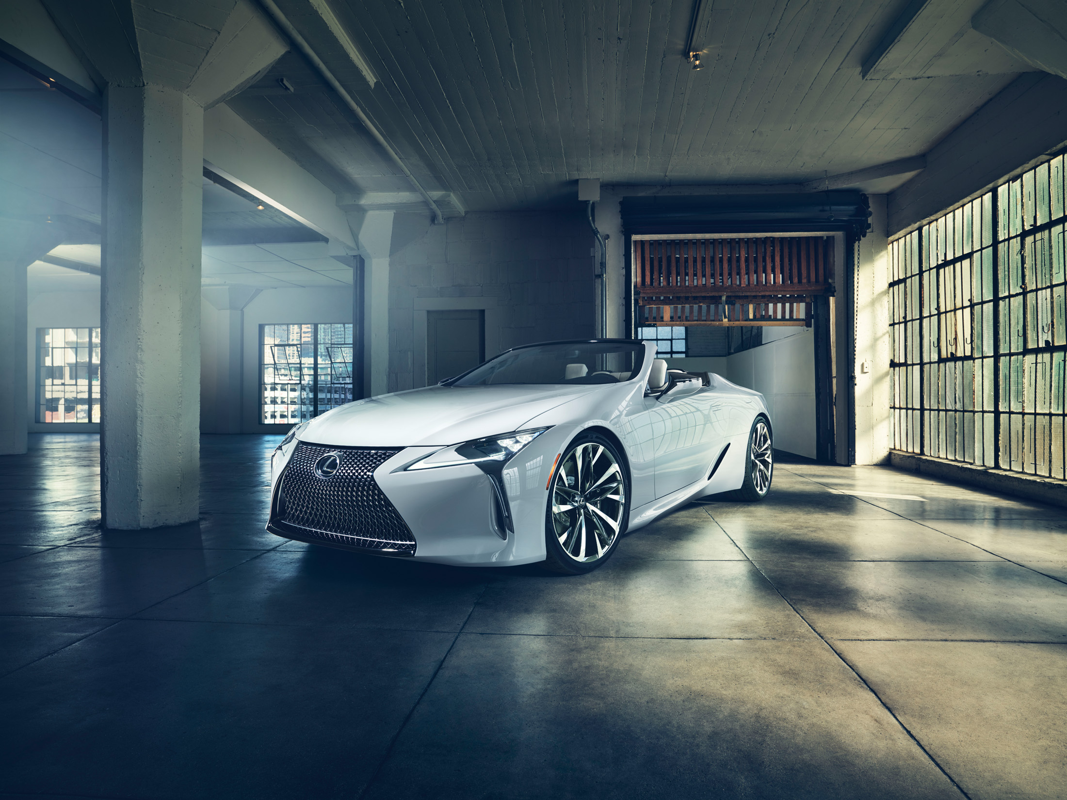 The Lexus LC Convertible Concept NUVO