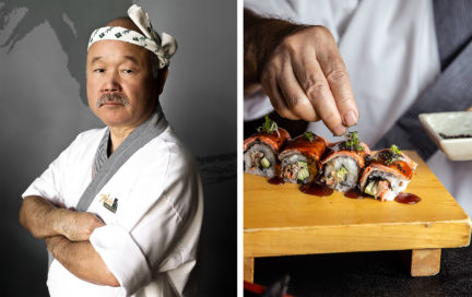 Chef's Table Tojo San NUVO Spring 2019