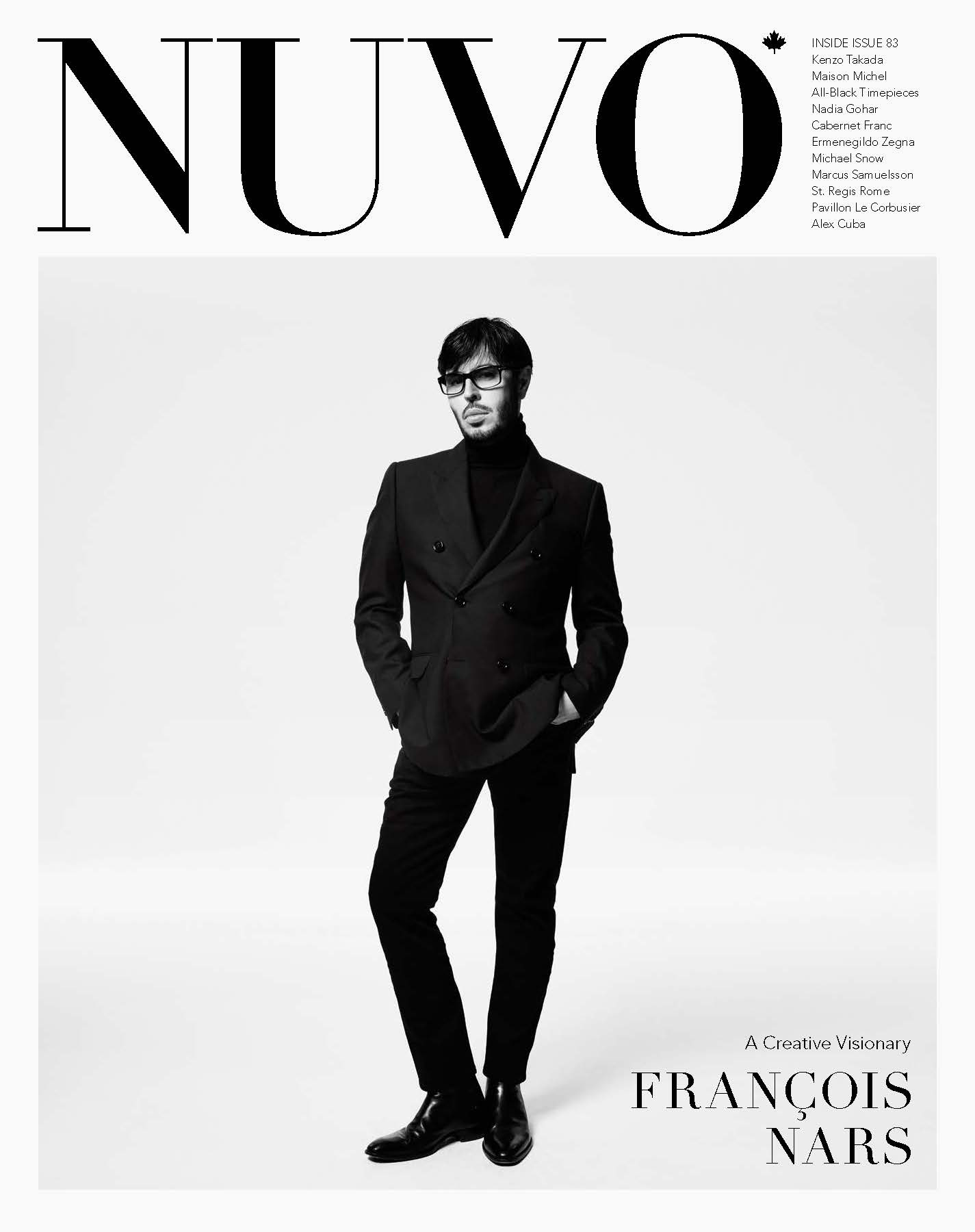 François Nars for NUVO Magazine.