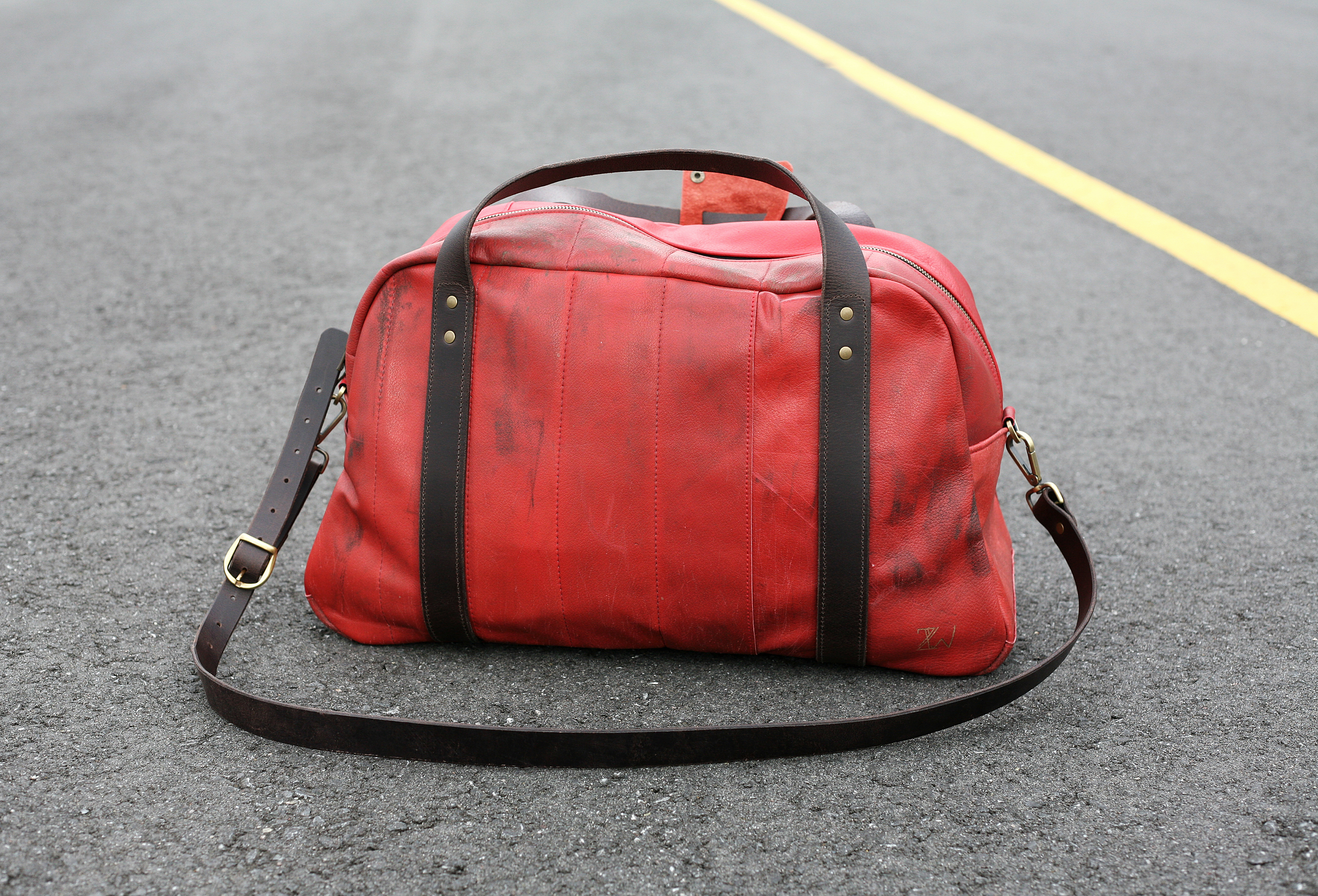red bag sustainable luxury