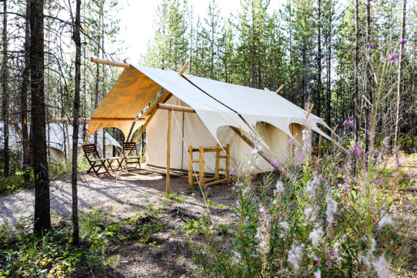 4 Elegant Glamping Resorts From Western Canada to Colorado