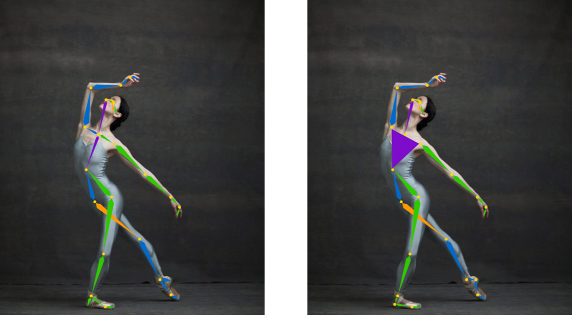 What: Image of an app that uses AI to teach ballet.