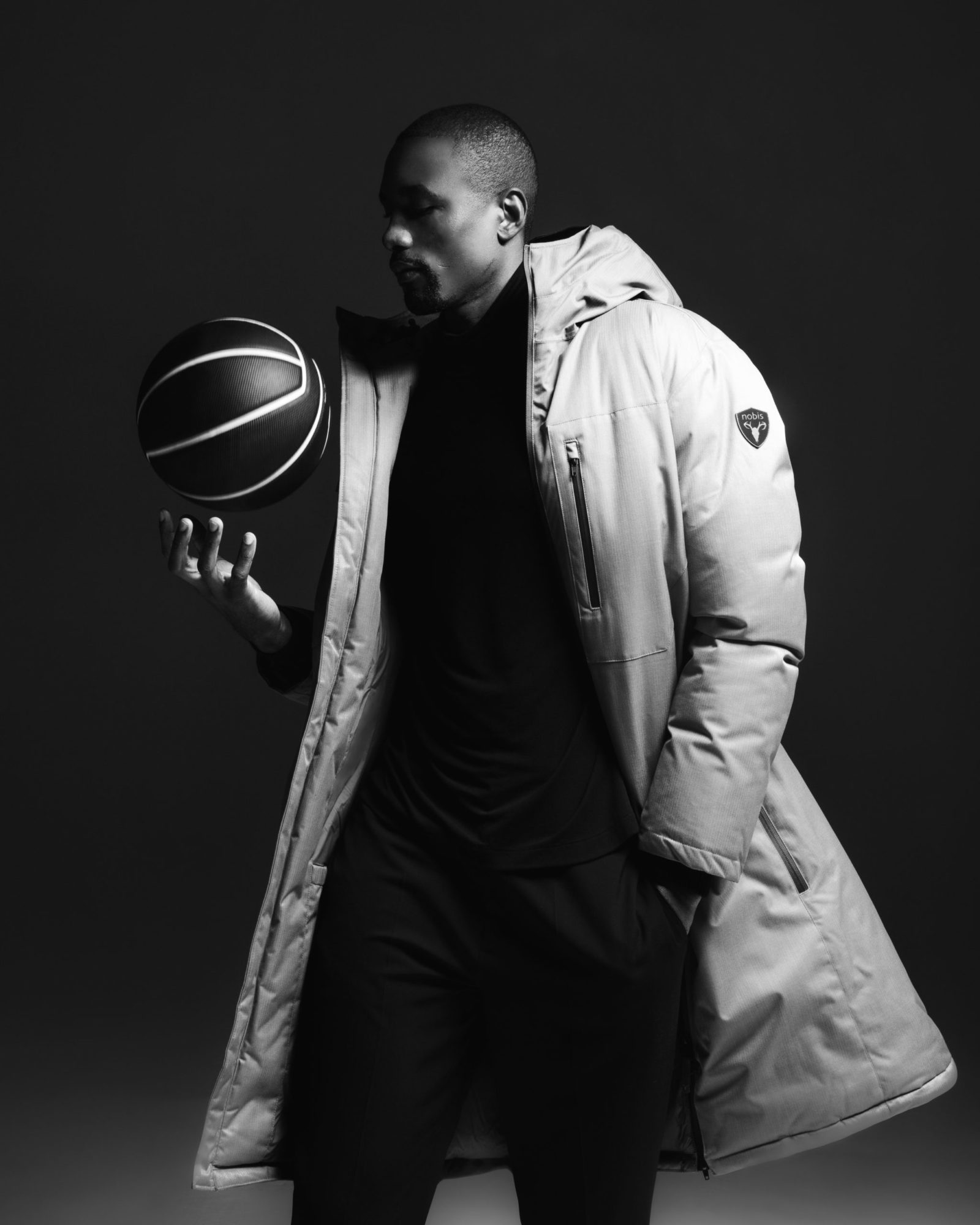 Serge Ibaka as Model for Clothing Brand