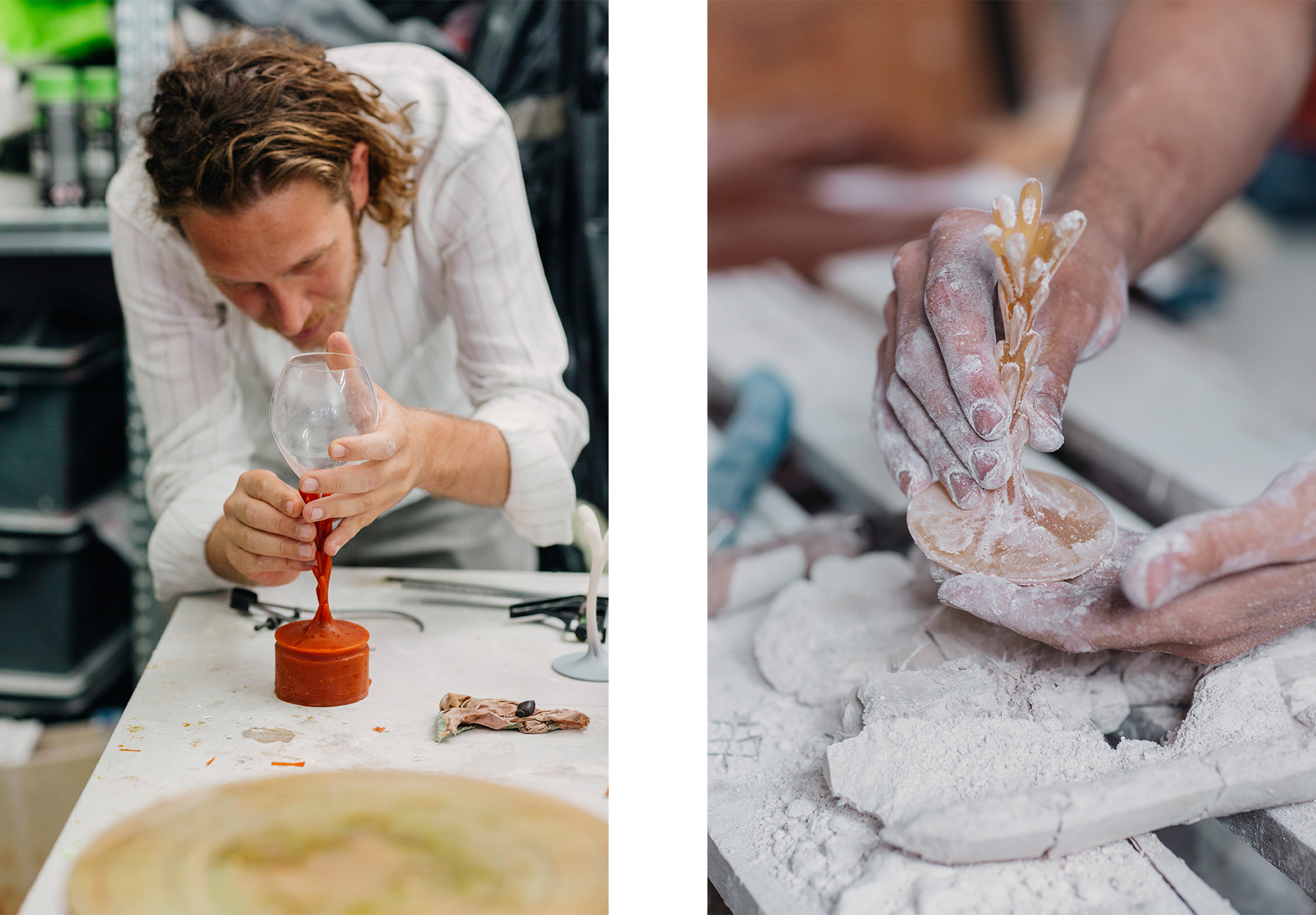 Metamorphosis, was designed as part of a creative collaboration between champagne maison Perrier-Jouët and Andrea Mancuso