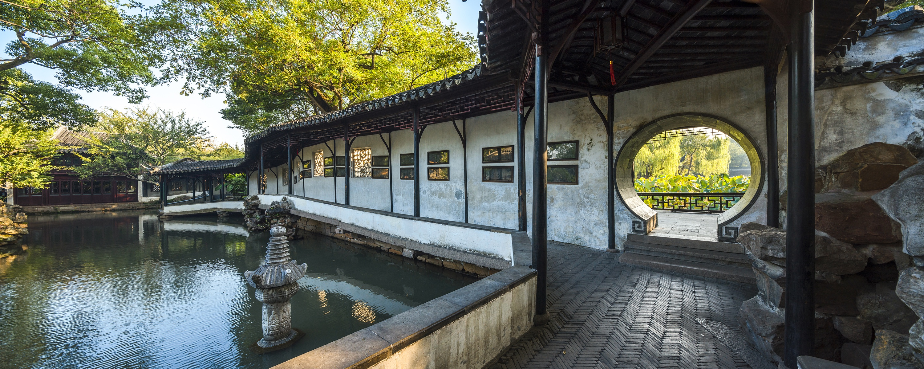 One of the garden of Suzhou