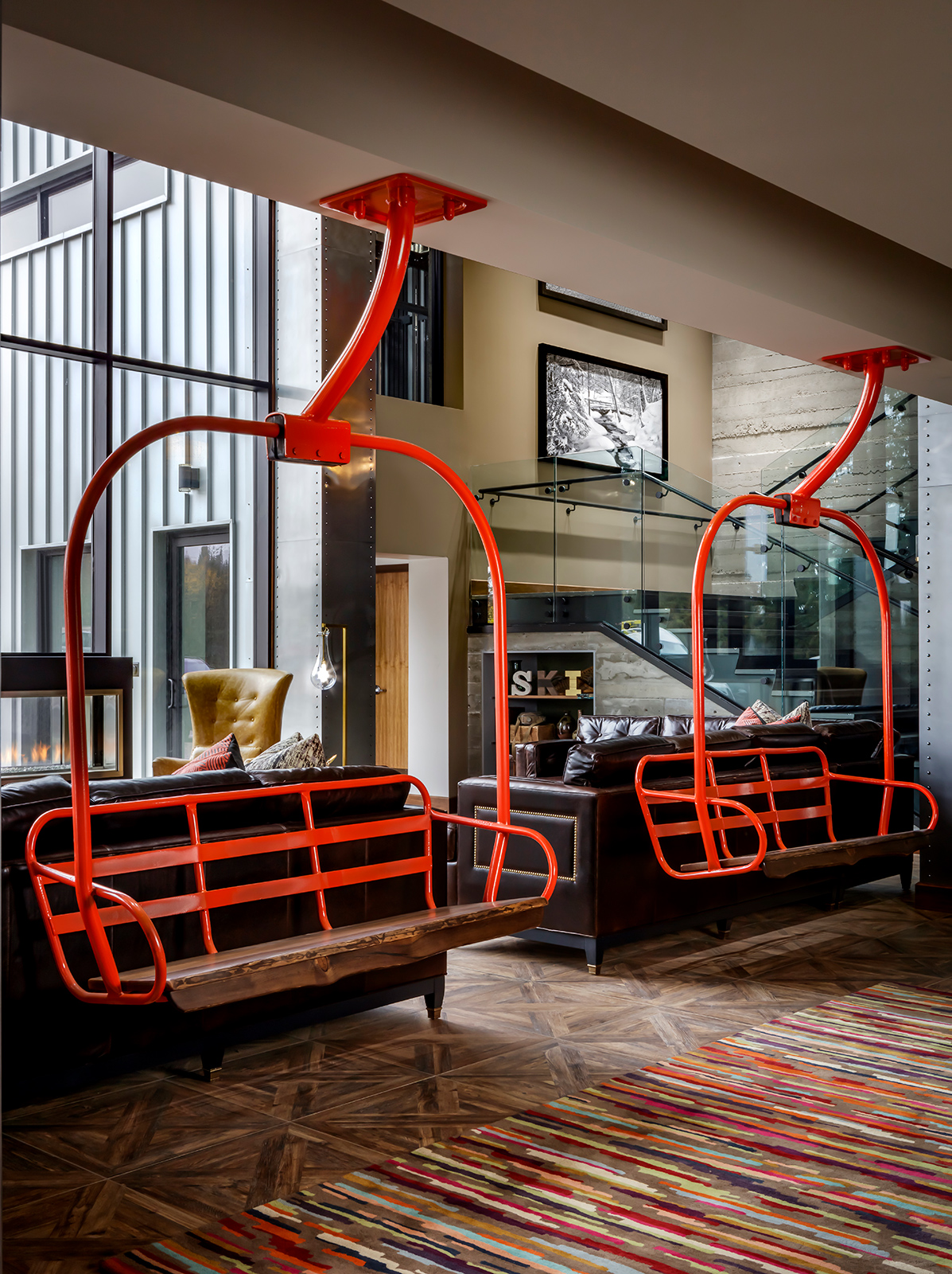 The boutique lobby of Josie Hotel