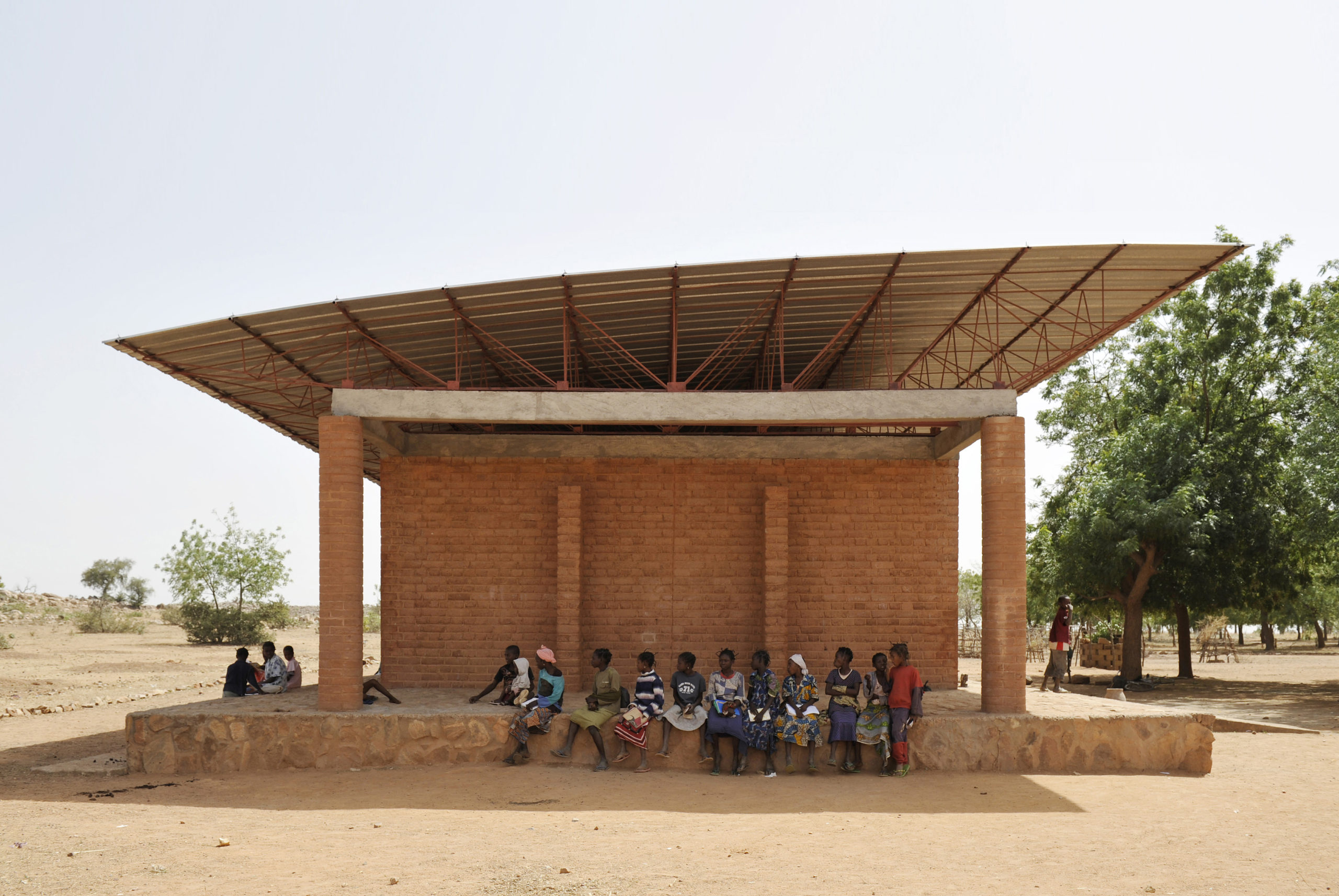 The Gando Primary school.