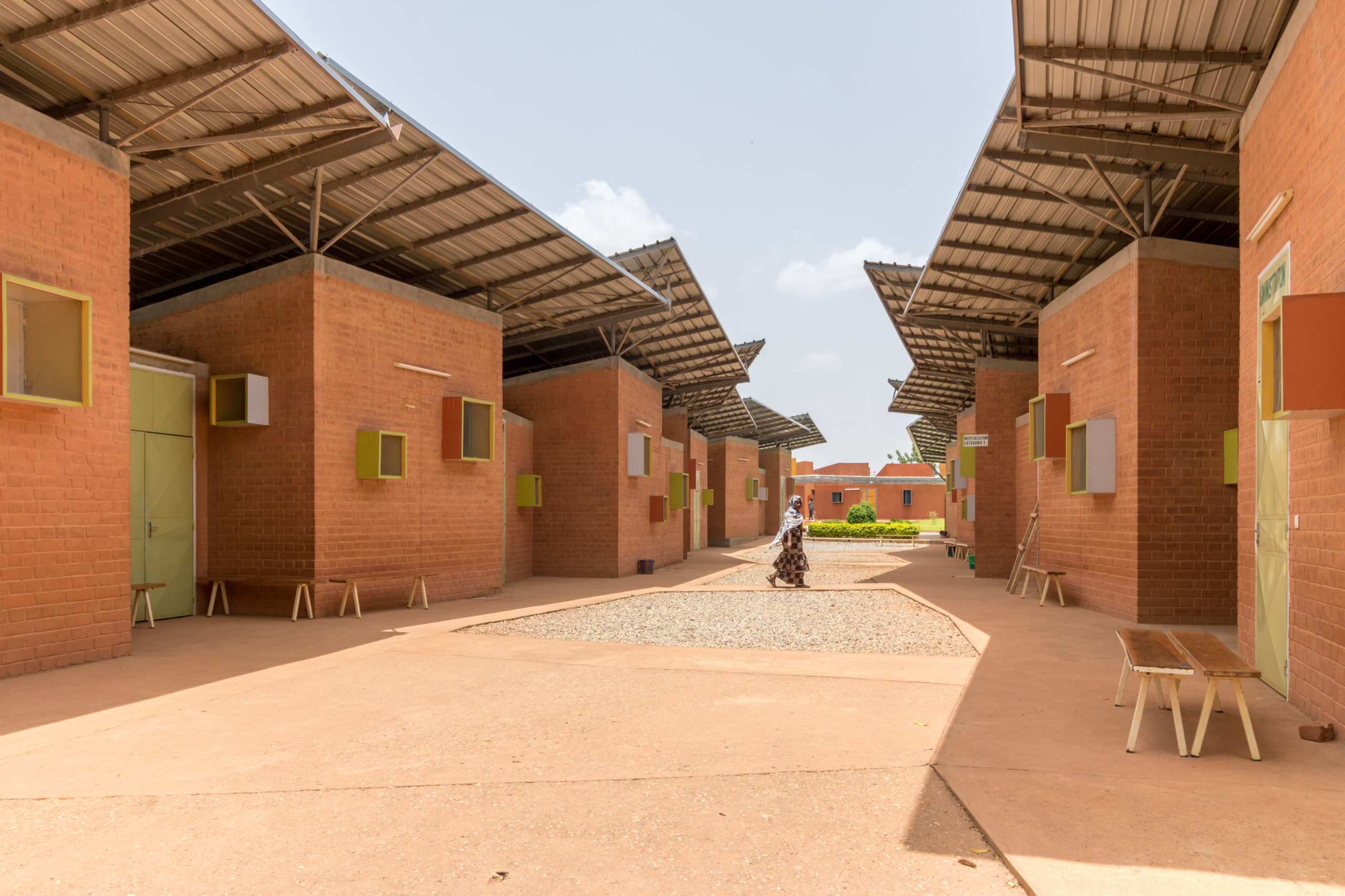 Surgical Clinic and Health Center in Léo.