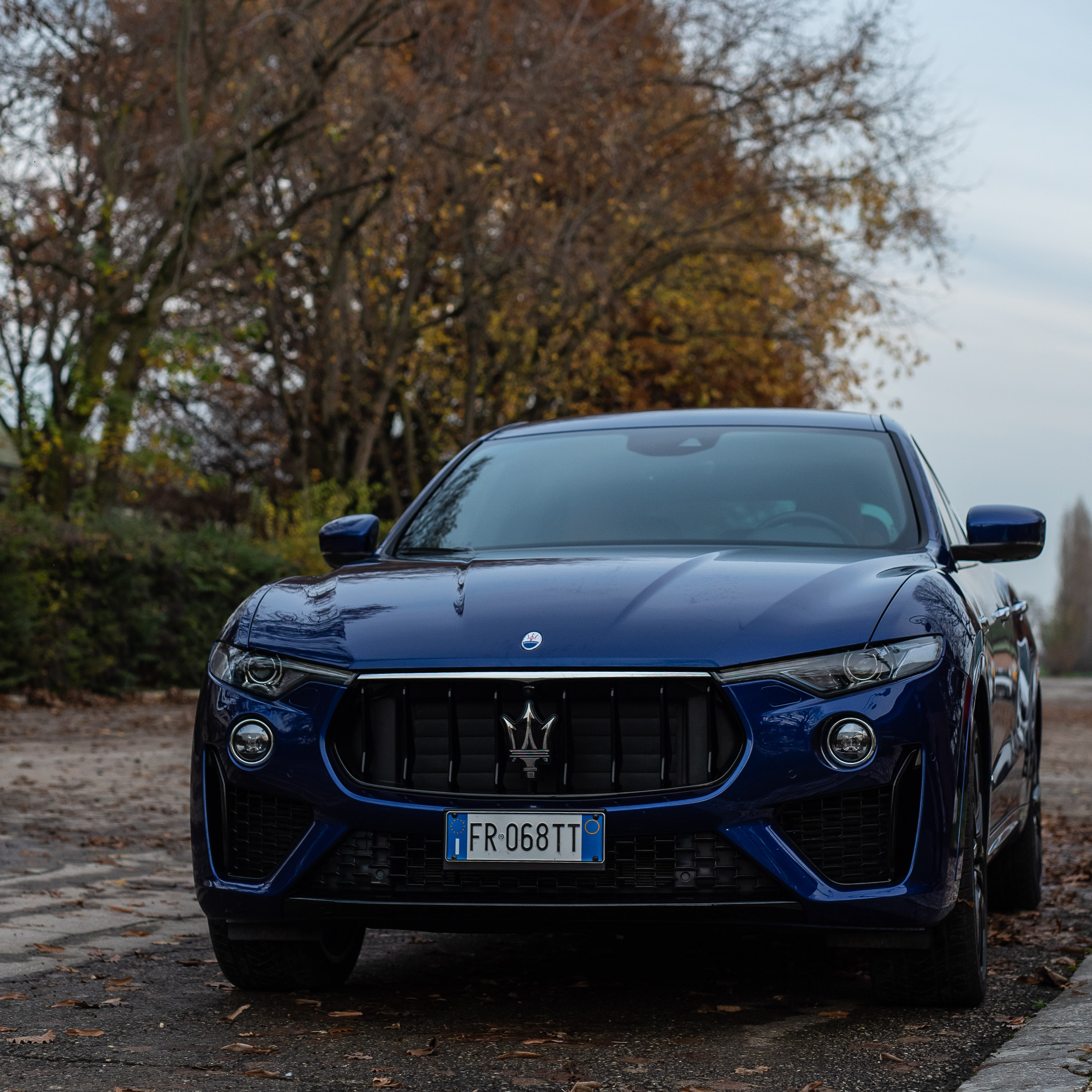 The Maserati Levante test drive
